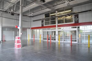 Tidewater Storage Center - Inside Garage
